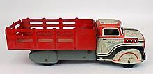 Marx pressed steel stake truck