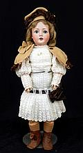 Revalo German bisque socket head doll