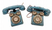 Two Speed Phones by Gong Bell Mfg Co.