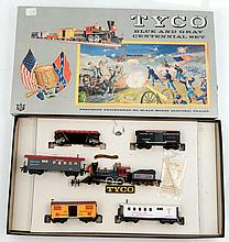 Tyco Blue and Grey Centennial Set HO scale in box