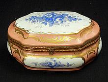 Limoges porcelain dresser box