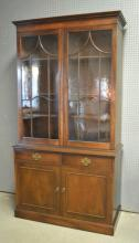 Saybolt & Cleland mahogany china cabinet