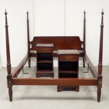 Kittinger Williamsburg mahogany three piece bedroom set