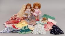 1950's strung Vogue Ginny lot