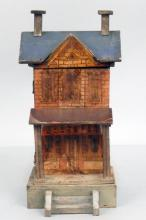 Gottschalk blue roof dollhouse