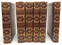 Six volumes of Longfellow's Writings