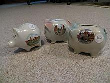3 Pig Coin Banks