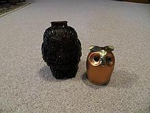 2 Owl Coin Banks