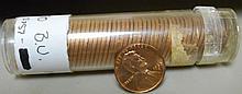 50 1960D Wheat Pennies