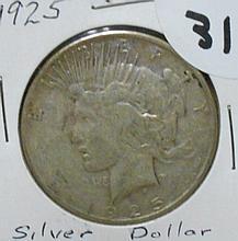 1925S Peace Dollar