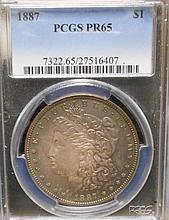 1887 PR65 Morgan