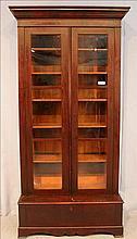 Mahogany Empire 2 piece bookcase