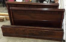 Flame mahogany daybed