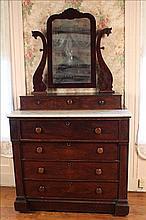 Mahogany 7 drawer chest