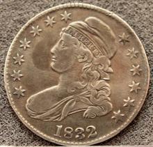 1832 United States Bust Half Dollar