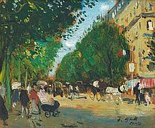Francois Gall, Parisian Boulevard