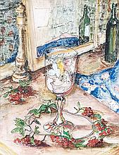 Maud Frances Eyston Sumner, Still Life with Cherries