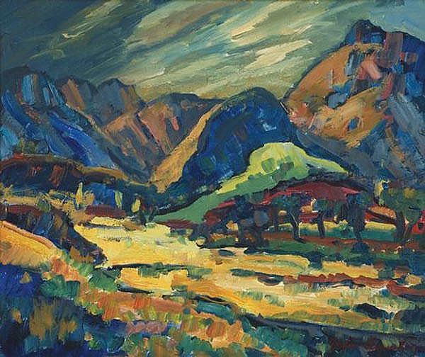 Stefan Ampenberger South African 1908-1983 An