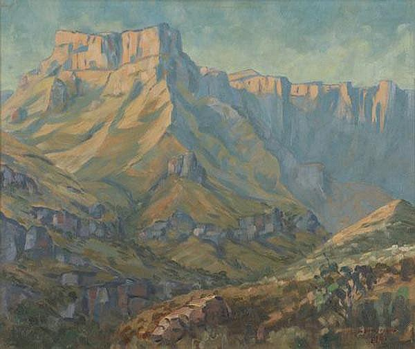 Stefan Ampenberger South African 1908-1983