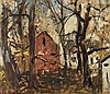 Freida LOCK South African 1902-1962 The Red Barn, Freida Lock, R0