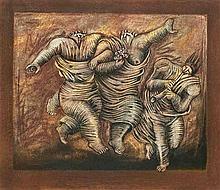 Sydney Alex Kumalo, Three Dancing Figures