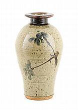 Tim Morris, Standing Vase with Flower Decoration