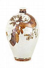 Tim Morris, Standing Vase with Floral Motif