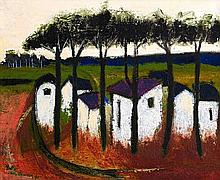 Pieter van der Westhuizen, Cottages under Trees