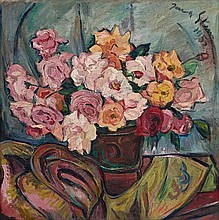 Irma Stern, Still Life with Roses