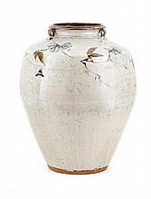 Tim Morris, Standing Vessel with Flower Decoration