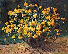 Frans David Oerder, Still Life with Ranunculus