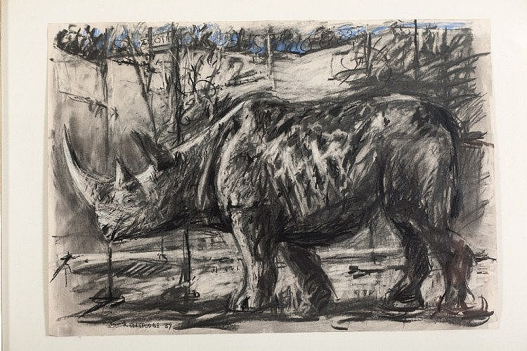 William Joseph Kentridge - Rhino