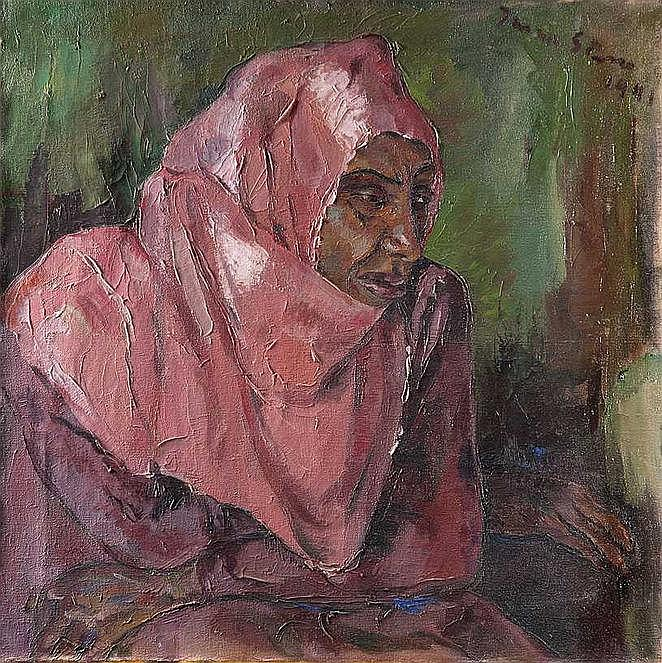 Irma STERN South African 1894-1966 Portrait of a