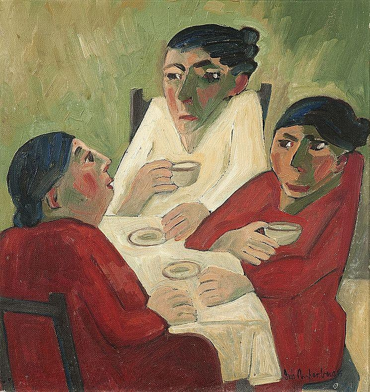 Iris AMPENBERGER South African 1916-1981 Coffee
