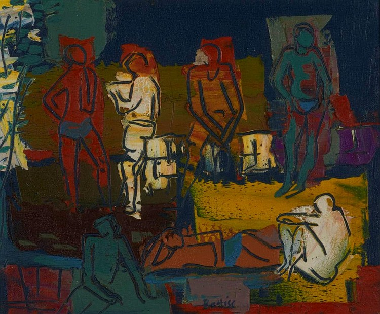 Walter Whall Battiss SOUTH AFRICAN 1906-1982