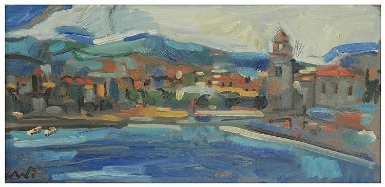 ALEJANDRO VILADRICH (1957) óleo sobre cartón.
