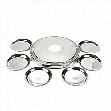MAISON CHRISTOFLE TABLEMAT IN SILVER PLATED MALMAISON MODEL