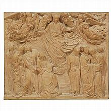ENRIC MONJO (1895-1976).HIGH RELIEF IN TERRACOTA