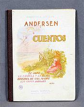 """CHRISTIAN ANDERSEN, HANS. """"Cuentos"""". Incluye numer"""