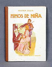"""ANÓNIMO. """"Mimos de niña"""". Incluye numerosas ilustr"""