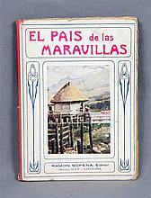 """MANSON, JAMES A. """"El país de las maravillas"""". Ilus"""