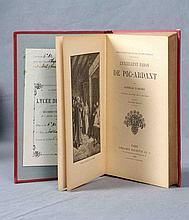 """D'ARTHEZ, DANIELLE (1862-1929)  """"L'Excellent Baron de Pic Ardant""""  Con 32 ilustraciones de Zier. Librairie Hachette&Cie.; Ed. Chez Gennequin Aine. París, 1905."""
