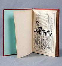 """VV.AA.  """"Les Enfants. Deuxieme semestre"""". Librairie Patriotique. París, 1882."""