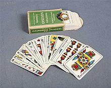 Italian Tarot deck. Da Gioco cards factory, FAUSTINO SOLESIO-GÉNOVA, establ
