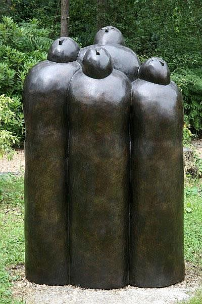 Bill Harling, born 1946 Chorus Bronze signed