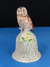 Towle Porcelain Bell - Owl