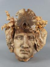 Art Pottery Mask Planter