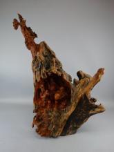 Huanghuali Root Wood Carving
