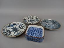 Lot of 5 Japanese Plates