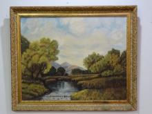 G. THORNTON - Oil on Canvas